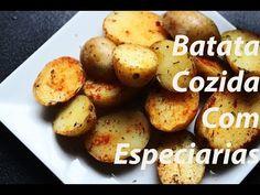 BATATAS COZIDAS COM ESPECIARIAS