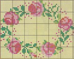 mini needlework chart