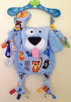 Boy Dog Baby Doll Keepsake Blanket Toy by SewDPopShop on Etsy