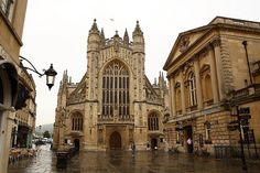 abbey in bath, england