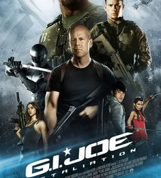 GI Joe Retaliation - Dwayne Johnson, Bruce Willis, and Channing Tatum are getting good at this good guy solider saving the world thing. All Movies, Action Movies, Great Movies, Movies Online, Watch Movies, Movies Free, Amazing Movies, Movies 2019, Hindi Movies