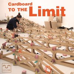 Exploring the limits of cardboard with the Extensible Lamp, an awesome cardboard structure that reacts to movement and sound.