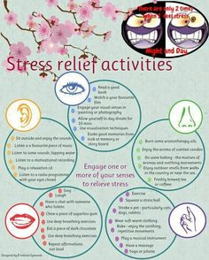 I really need to try and relieve some of the stress in my life!