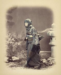 Felice Beato   British, Japan, about 1868   Hand-colored albumen silver print