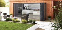 Origin Bi-Folding Doors - Bi-folding, Corner, French & Bay Doors