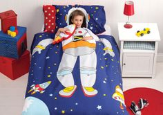 If you'd been to my house you'll know why! Spaceman Bedding Quilt Cover Set Boys Kids Rocket Space Ship Astronaut Stars New[Double (King Single) Size Quilt Cover S Little Boys Rooms, Cool Kids Bedrooms, Kids Rooms, Rockets For Kids, Kids Bedroom Furniture, Quilt Cover Sets, Kid Beds, Bunk Beds, Bedroom Themes
