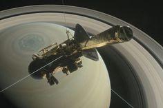 Grand finale da sonda Cassini, grand debut para a Ciência - http://www.showmetech.com.br/sonda-cassini-chega-ao-fim-da-missao/