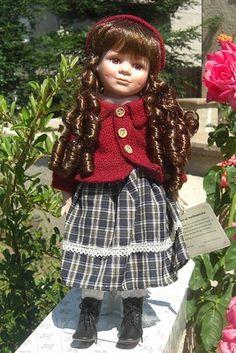 Heritage Heirloom Porcelian Doll on ebay for $9.99 Angelica