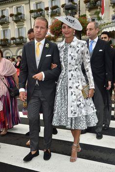 Matrimonio Beatrice Borromeo e Pierre Casiraghi, i look degli invitati da Lapo Elkann a Charlotte