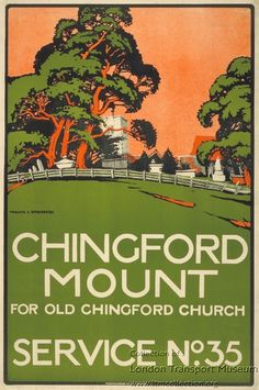 Chingford Mount ~  Walter  Spradbery