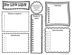Kid's Life (Bucket) List Activity- free printable with prompts and questions to help kids create their life list www.thinkingiq.com
