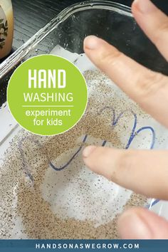 No-prep easy science experiment for toddlers and preschoolers to do at home. Water, pepper, glass dish, paper, marker, and some liquid dish soap. That's all you need!