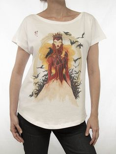 Wicked Queen Blanco 91 Madrid, Wicked, Queen, T Shirts For Women, Woman, Mens Tops, Fashion, Moda, Fashion Styles