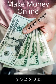 It's easy to make money online.Its takes some time but you make it. Just try it. #makemoneyonline #money #affiliatelink Work From Home Moms, Make Money From Home, Make Money Online, How To Make Money, Online Surveys That Pay, Online Jobs, Free Cash, Career Path, Investing Money