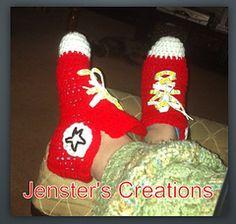 Free Crochet Shoe Slipper Pattern