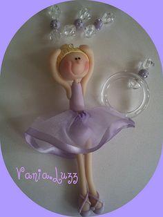 Bailarina Loirinha by Sonho Doce Biscuit *Vania.Luzz*, via Flickr