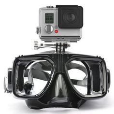 Scuba Mask with Camera Mount