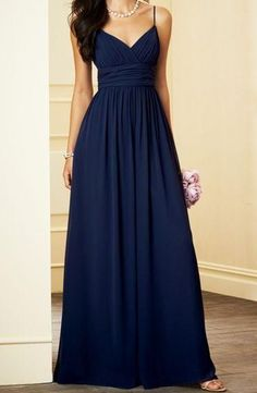 Cheap blue bridesmaid dresses cheap, Buy Quality navy blue bridesmaid dresses directly from China blue bridesmaid dress Suppliers: 2017 Spaghetti Strap A Line Chiffon Sexy Maix Formal Gown Prom Navy Blue Bridesmaid Dress Cheap Long Vestidos De Festa Cap Sleeve Bridesmaid Dress, Navy Blue Bridesmaid Dresses, Wedding Bridesmaid Dresses, Dress Prom, Party Dress, Navy Bridesmaids, Navy Formal Dresses, Simple Prom Dress, Navy Blue Dresses