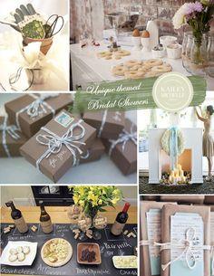 Bridal Shower Ideas | 6 unique, personalized themes