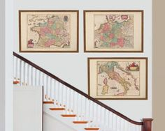 Antique Maps of Europe Series, originally created by Willem Janszoon Blaeu, now available as a 'museum quality' classic decoration print. European Map, Old World Maps, Antique Maps, Restoration Hardware, Travel Posters, Berlin, Gallery Wall, Germany, Museum