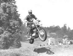 Jaromir Cizek on a Jawa 250cc at Beenham Park, 1958