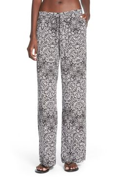 Jolt Drawstring Palazzo Pants (Juniors) available at #Nordstrom