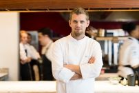 A creative chef Gregory Czarnecki at the stunning and exotic Wine Estate restaurant Best Places To Eat, Fine Dining, Chefs, Wines, The Good Place, Exotic, Restaurant, Creative, Food