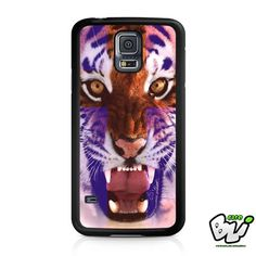 Tiger Face Cross Samsung Galaxy S5 Case