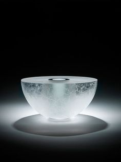 'Syrma' Bruno Romanelli - Glass Sculpture - although it looks like ice, making it seem 'cool,' it is so sensual!