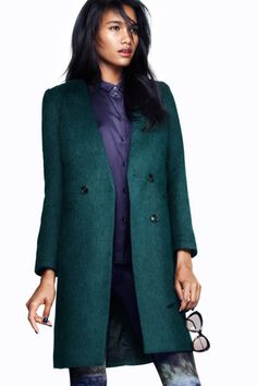 Double-Breasted Jacket    H Coat, $129