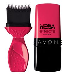 AVON Mega Effects Mascara - After 50 years of different looks of mascara wands, AVON has created the newest most stylish mascara wand ever! This new product will be out in our Campaign 17 brochure (end of July 2013). You can order your Mega Effects Mascara at: www.youravon.com/antoinettegiannone
