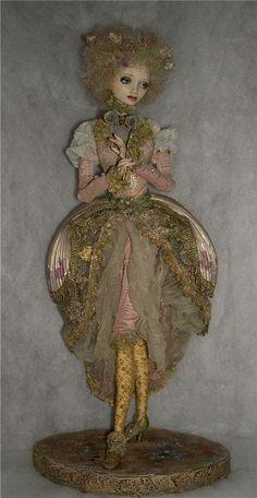 Delicate 'French' lady ~ doll by Irina Deineko