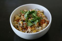 Week of Menus: Elote Corn Salad: Anticipating something