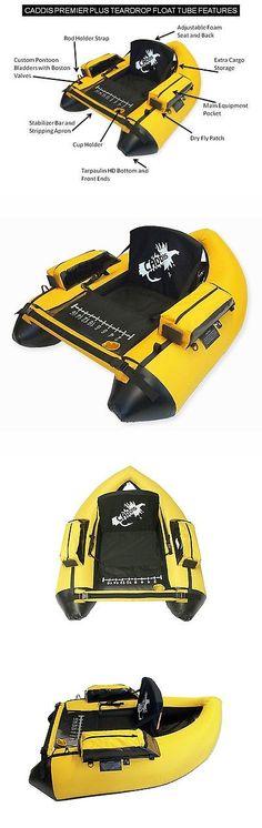Float Tubes 179995: New Caddis Sports Premier Plus Fisherman Float Tube Yellow Fishing Teardrop -> BUY IT NOW ONLY: $199 on eBay!
