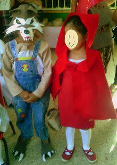 1000 images about educacion infantil on pinterest for Disfraz de lobo feroz
