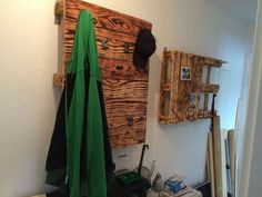garderobe holzarbeit alles selbst gebaut pinterest selbst bauen holzarbeiten und garderoben. Black Bedroom Furniture Sets. Home Design Ideas