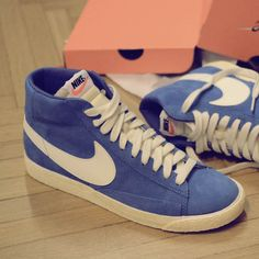 Nike Blazer Vintage Italy Blue  guys these are the shoes im saving up for:)))