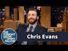 The Tonight Show Starring Jimmy Fallon: Chris Evans Is Starting to Speak Like His Toddler Nephew