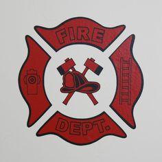 Fire Station Firehouse Vinyl Wall Decal by vineyardvinyl on Etsy, $69.00