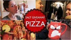 WIN Crystal Salt Grinder & Paleo Pizza