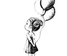 Saatchi Online Artist: Indrė Bankauskaitė; Pen and Ink, Drawing ......