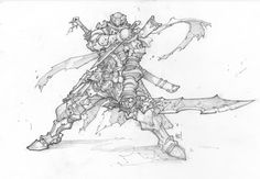 Joe Madureira ! Fansite: Battle Chasers Anthology Sketches