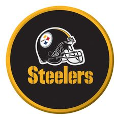 NFL 7 inch Lunch Plates Pittsburgh Steelers/Case of 96