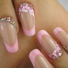 Uñas rosad rosadas