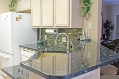 Kitchen Design With Dark Wood Cabinets Granite
