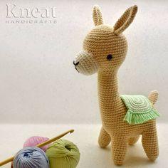 Marcia the Alpaca Pattern by Pica Pau. Made by Kneat Handicrafts. Handicraft, Dinosaur Stuffed Animal, Anna, Crochet, Pattern, Handmade, Instagram, Woody Woodpecker, Amigurumi