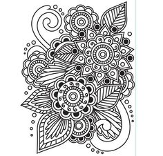 Henna Paper Embossing Folder - 4.25 x 5.75 - by Darice®