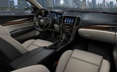 ALL-NEW 2013 CADILLAC ATS with CUE interior