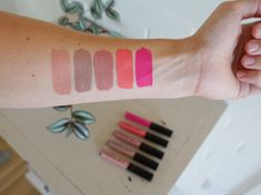 Holdbare matte læber // Nu Colour POWERlips Fluid - Rikkes Makeup BlogRikkes Makeup Blog Makeup Blog, Color, Colour, Colors
