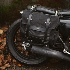 motorcycle travel gear // made by hand Seattle, WA